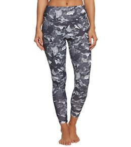 Marika High Waist Solid Tek Fleece Yoga Leggings