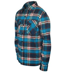 Grom Boys' Ranger Flannel Long Sleeve Shirt (Big Kid)