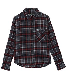 Grom Boys' Major Flannel Long Sleeve Shirt (Big Kid)