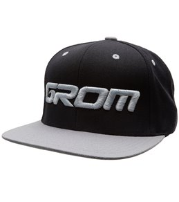 Grom Boys' Logo Cap (Big Kid)