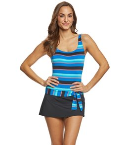 Jag Rugby Stripe Swimdress