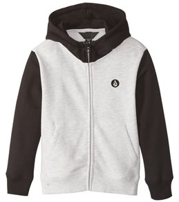 Volcom Boys' Single Stone Colorblock Zip Sweatshirt (Big Kid)
