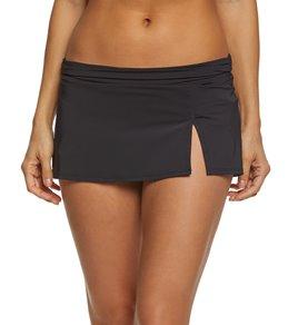 Skye Solid Kona Swim Skirt