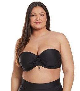 Skye Plus Size Solid Julia Convertible Bikini Top