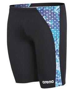 7e0cb128bb Arena Men's Star Flower MaxLife Panel Jammer Swimsuit