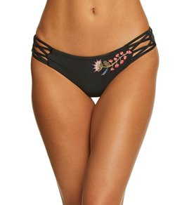 Ella Moss Shiny Spice High Leg Bikini Bottom