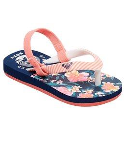 Roxy Girls' Pebbles VI Sandal (Toddler)