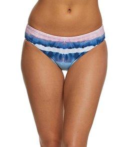 Splendid Tie Dye Stripe Reversible Bikini Bottom