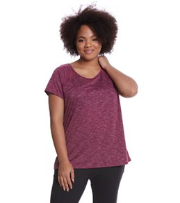 Shape Activewear Women's Bailey Plus Size Tee
