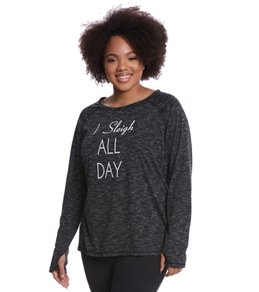 Shape Activewear Women's L/S Performance Tee Extended Size