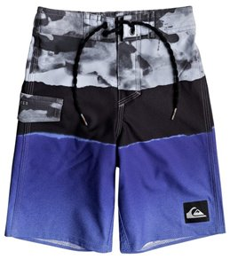 Quiksilver Boys' Blocked Resin Camo Swim Trunk (Big Kid)