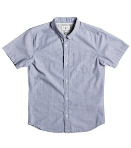 Quiksilver Boys' Everyday Wilsden Short Sleeve Woven Shirt (Big Kid)