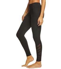 Balance Collection Bella High Waist Strappy Mesh Yoga Leggings