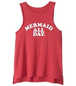 Billabong Girls' Mermaid All Day Tank Top