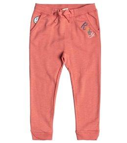 Roxy Girls' Catching Feelings Slim Fit Fleece Pants (Little Kid)