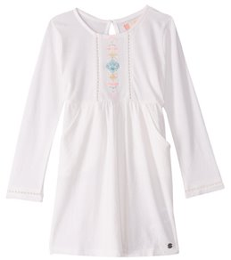 Roxy Girls' Cookie Kiss Long Sleeve Dress (Little Kid)