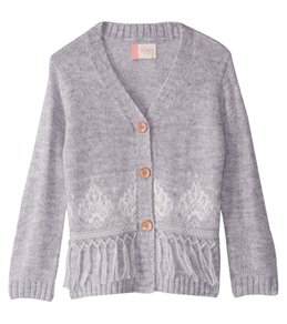 Roxy Girls' Miles From You Long Sleeve Cardigan Sweater (Little Kid)