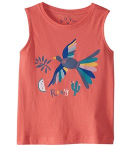 Roxy Girls' Some Others Crew Neck Tank Top (Little Kid)