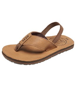 Reef Boys' Grom Leather Smoothy Sandal (Toddler, Little Kid, Big Kid)