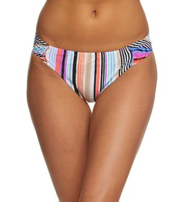Kenneth Cole Reaction Over the Rainbow Sash Tab Hipster Bikini Bottom