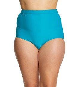 Coco Reef Plus Size Classic Solid Power Bikini Bottom