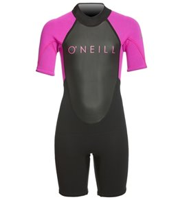 O'Neill Youth 2MM Reactor II Short Sleeve Back Zip Spring Suit