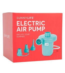SunnyLife Electric Air Pump- Turquoise