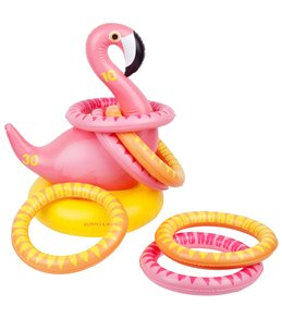 SunnyLife Inflatable Ring Toss Game Flamingo