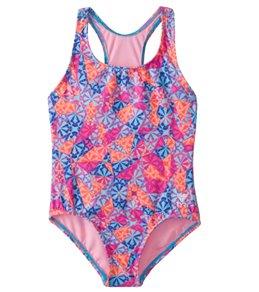 TYR Girls' Sugar Rush Maxfit One Piece Swimsuit (Toddler, Little Kid, Big Kid)