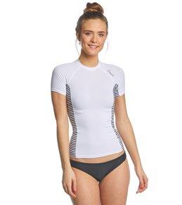 오닐 반팔 래쉬가드 ONeill Womens Side Print Short Sleeve Rashguard