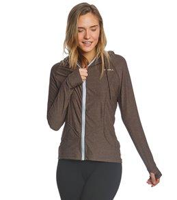 오닐 집업 후드 래쉬가드 ONeill Womens Hybrid Long Sleeve Front Zip Sun Hoodie