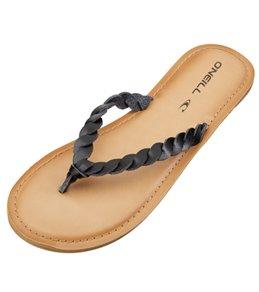 e7d4bfad471 O Neill Women s Lucille Braided Leather Flip Flop