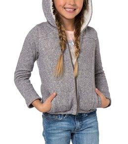 O'Neill Girls' Bunny Hug Zip Fleece Hoodie (Toddler, Little Kid)