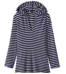 Splendid Girls' Stripe Hoodie Tunic Cover Up (Big Kid)
