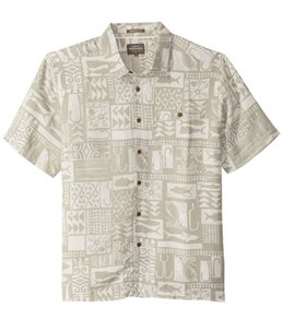 Quiksilver Waterman's Maludo Bay Short Sleeve Shirt