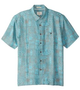 Quiksilver Waterman's Tikitaka Short Sleeve Shirt