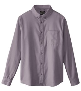 United By Blue Men's Banff Wool Long Sleeve Shirt