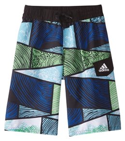 Adidas Boys' Wave Puzzle 19 Volley Swimsuit (Big Kid)