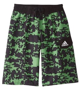 8093a9b976 Adidas Boys' Camo Grid 19 Volley Swimsuit (Big ...