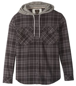 Quiksilver Men's Snap Up Long Sleeve Shirt
