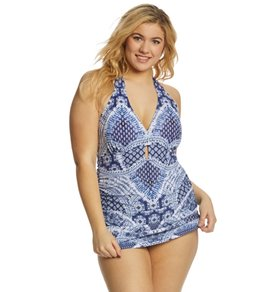 b74ffdf2bcd Jessica Simpson Plus Size Bondi Retro One Piece Swimsuit
