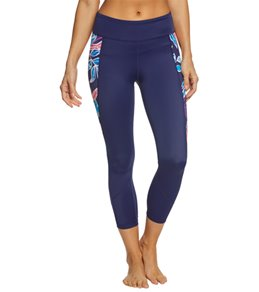 Tommy Bahama Women's Graphic Tropics Cropped Legging