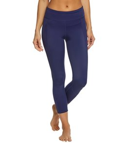 Tommy Bahama Women's Solid Cropped Legging