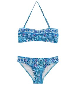 Seafolly Girls Girls' Gypsy Dream Mini Tube Bikini (Big Kid)