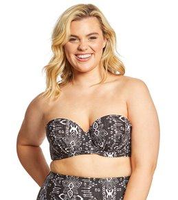 Raisins Curve Plus Size Half Moon Lush Bikini Top