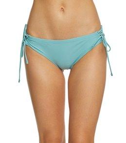 Raisins Sayulita Solid Boy Short Bikini Bottom