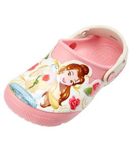 Crocs Girls' FunLab Princess Belle (Toddler, Little Kid)