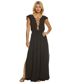 Vince Camuto Riviera Solid Maxi Cover Up Dress
