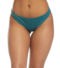 f59483c8bf Bikini Lab Solid Cinched Back Hipster Bikini Bottom