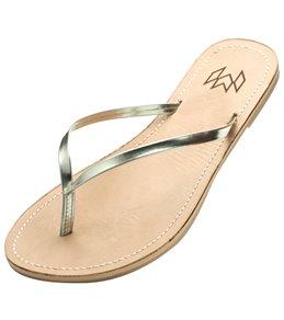 Malvados Women's Lux Leather Flip Flop